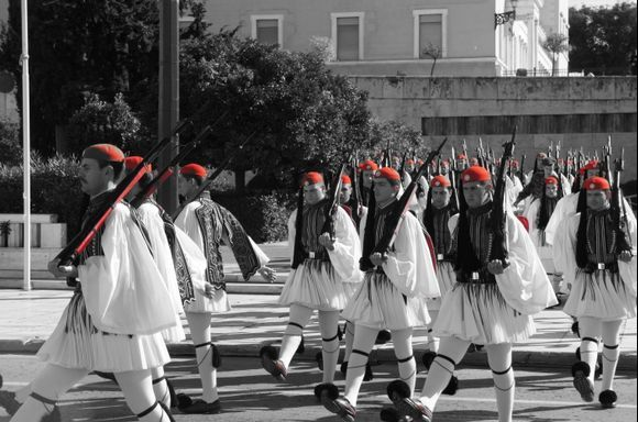 Sunday morning in Athens