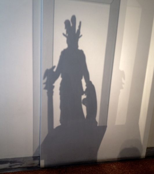 Nat. Museum: the shadow of the goddess