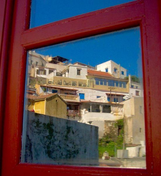 The windows in the window