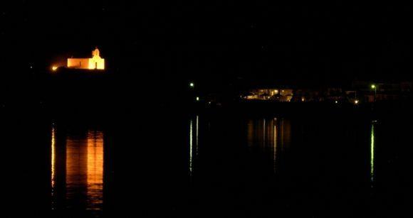 Sea in the night
