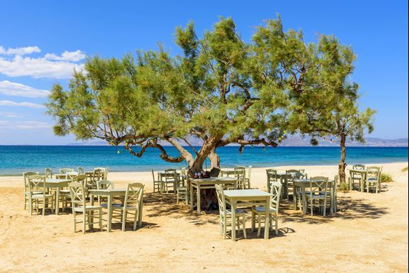 Naxos is definitely a gastronomic destination. It is the largest and most fertile island of the Cyclades, therefore has an important agricultural production and a wide variety of local products. The tavernas and restaurants of the island are really good. You can check our list here:https://www.greeka.com/cyclades/naxos/eat-drink/restaurants/
