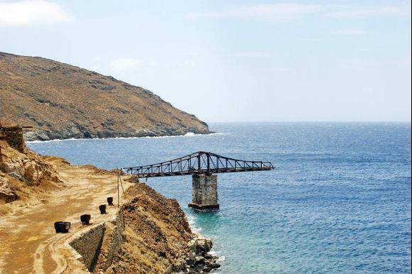 Old mines of Serifos! ☀☀ The mines of Serifos, which have now been abandoned, provided an important income to the inhabitants of the island till 1964, when they closed. They also worked in ancient times. Read more here 👉 http://bit.ly/2N13emt