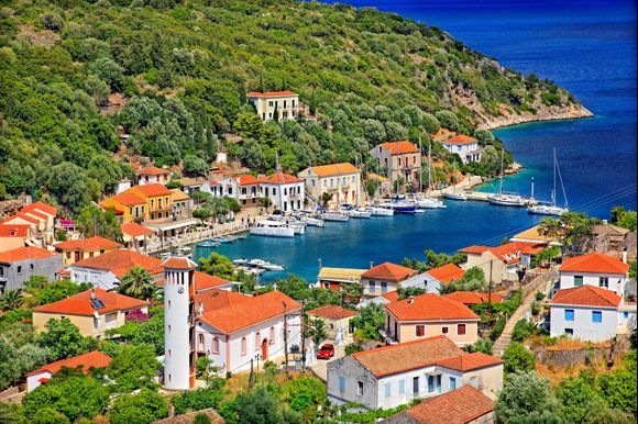 """""""As you set out for Ithaka hope your road is a long one, full of adventure, full of discovery...""""  """"Ithaka"""" by C.P.Cavafi  Find more about Ithaca here:  https://www.greeka.com/ionian/ithaca/"""