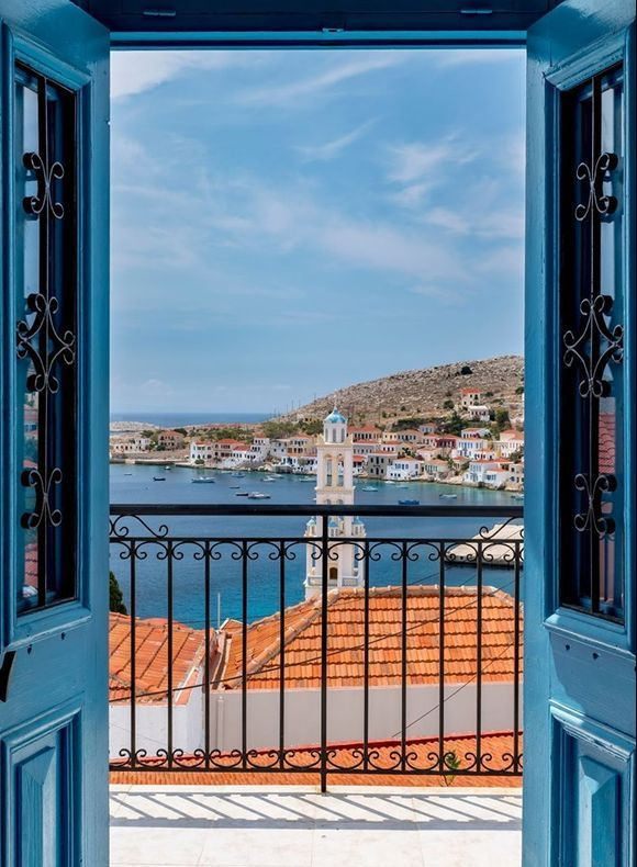 Halki island - A hidden gem in the Dodecanese 💎 Did you know that Halki island is characterized by UNESCO as the island of Peace and Friendship?