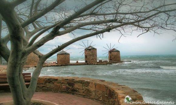 Chios town,Chios island
