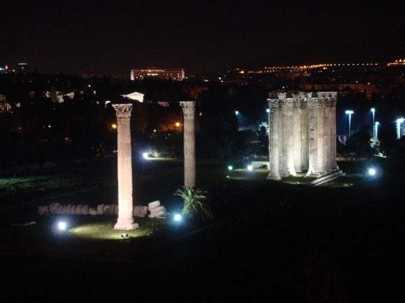 The beutiful view that i had during my trip to Athens...