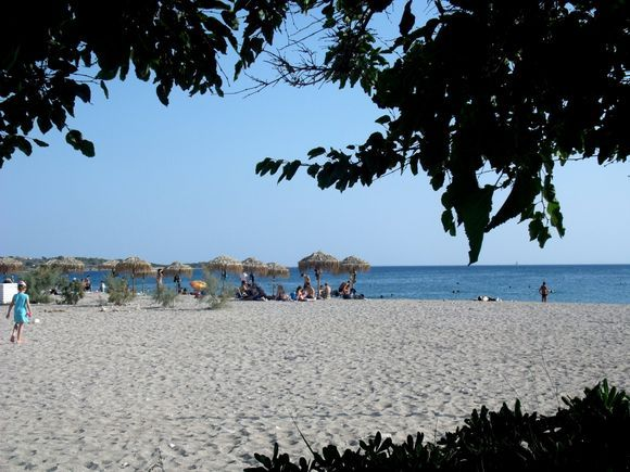 One of the beaches of Glyfada.