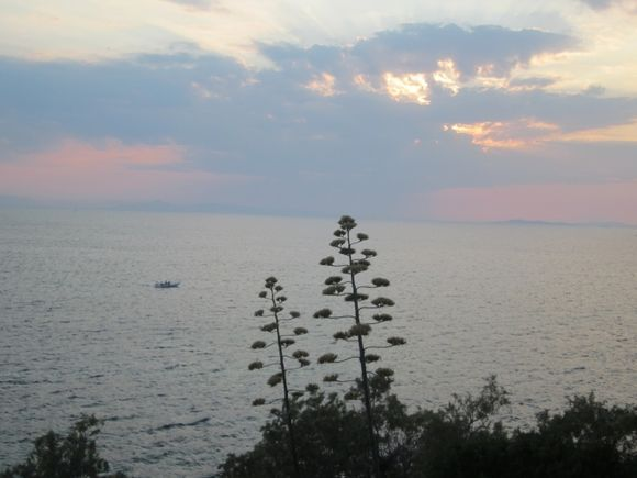 Saronida beach