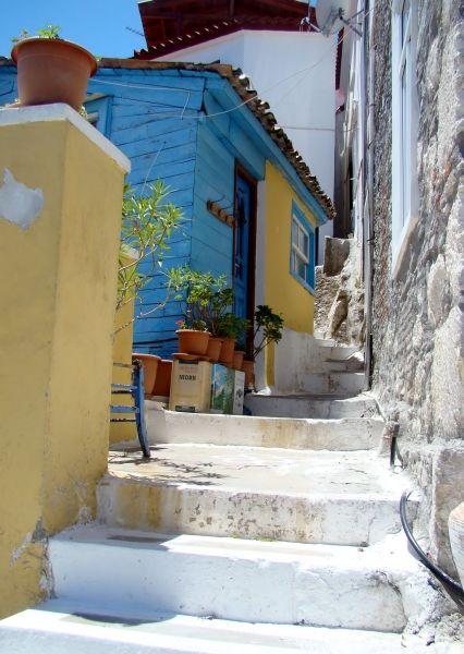 Street in Kokkari.