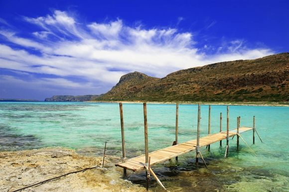 One of Must-visit place, Balos or Gramvousa. There are two ways to get there, one by car, and the other by boat. If you have a rent car and like trekking (must be both) I would like to recommend to ge