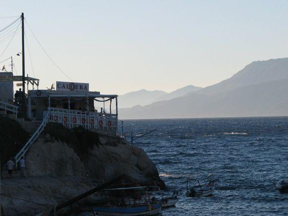 Matala, Crete in the evening