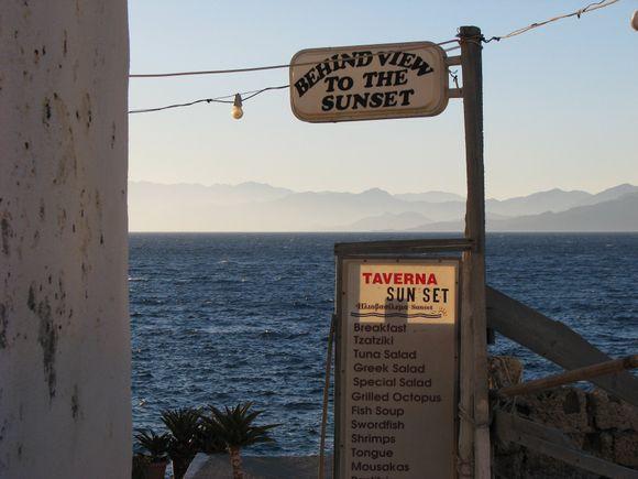 Sunset Matala, Crete