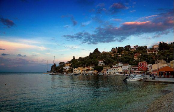 Our 2 favourite places on Paxos... #1 - Loggos