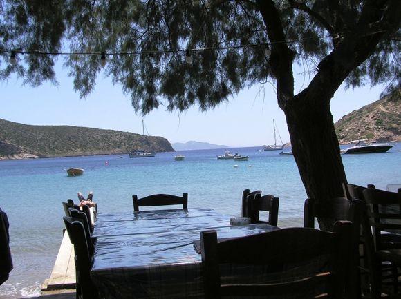 Restaurant in Vathy