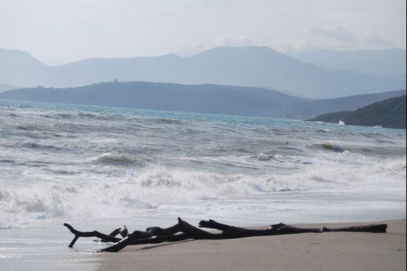Mavrovouni beach, GythioMavrovouni beach,