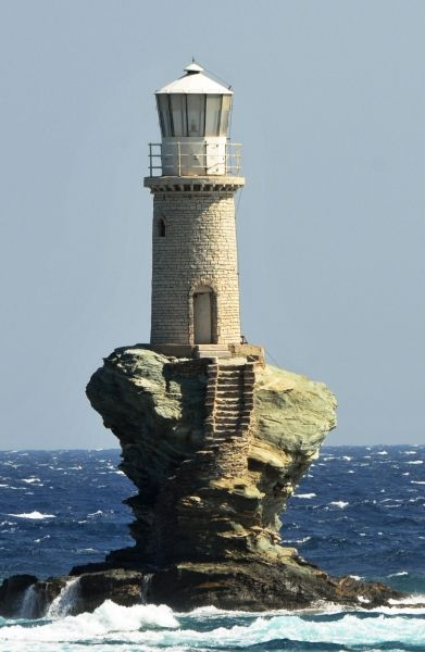 The lighthouse of Chora.