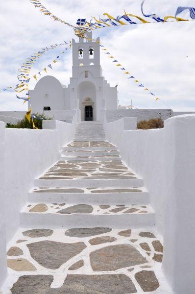 the beatiful monastery of Panayia Chrysopiyi.