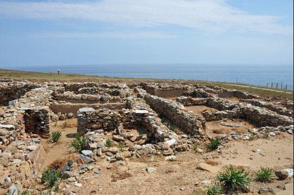 Ruins of the old city of Palamari.