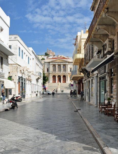 Town hall of Ermoupolis