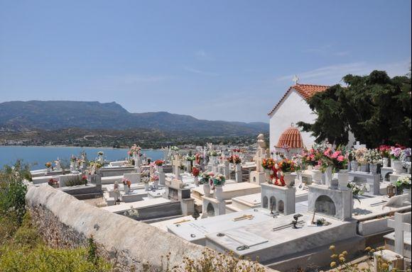 Sitia cemetery.