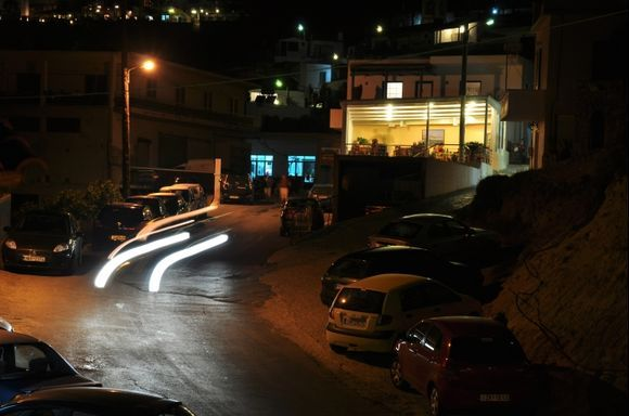Myrthios by night.