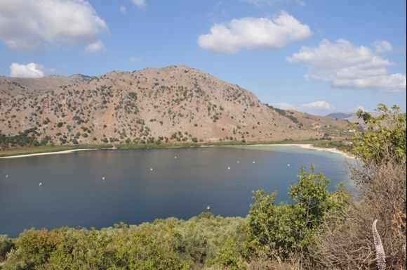 Kournas lake.