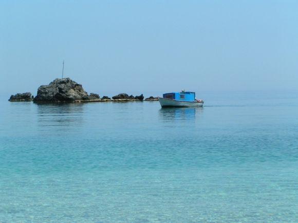 Boot in der Achata - Bucht