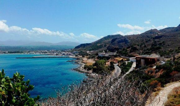 Blue sky & Blue sea at Kolymbari
