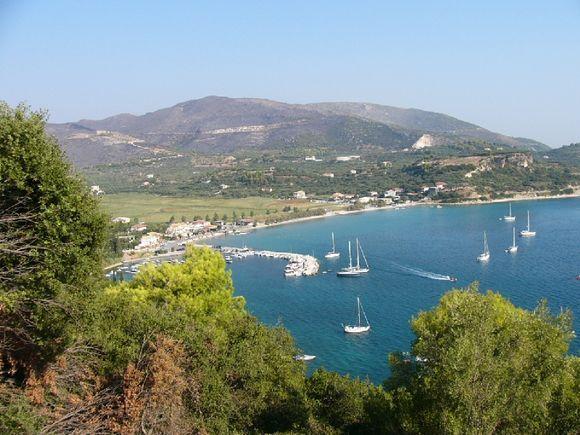 Keri Lake, Zakynthos