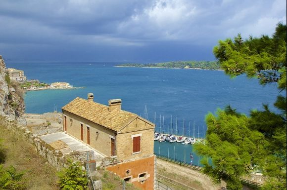 Views from Corfu town fortress