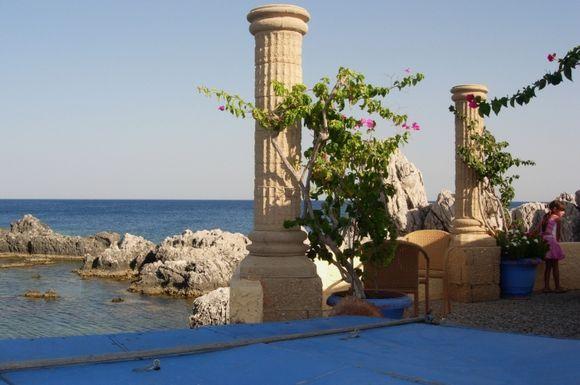 Picturesque fishermen village of Haraki, Rhodes