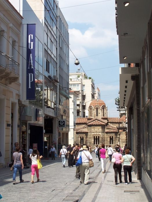 Athens-- Marriage of the Old and New