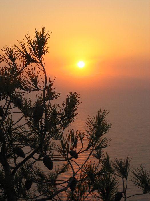 Sunset over Kambi