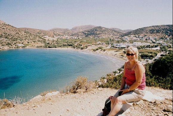 Galissas beach and Jacquie