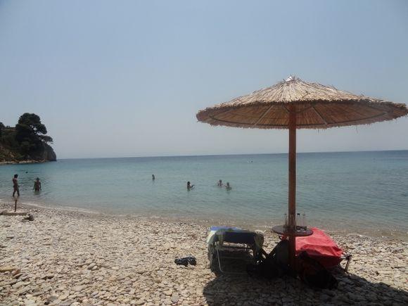 Beach at Megalos Mourtias, Alonissos
