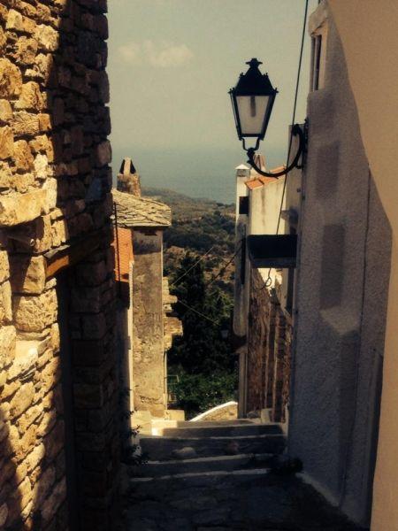 Street in the Od Village Alonissos