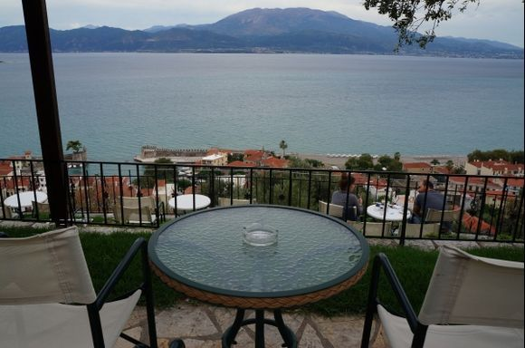 From Nafpaktos castle