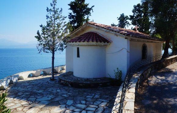 A chapel near the sea Altar side