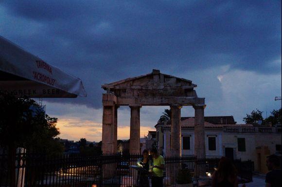 Beneathe the Acropolis