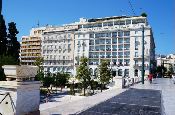 Grand Bretagne Hotel Syntagma Square
