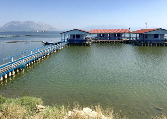 The houses of Limno thalassa