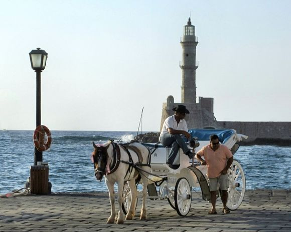 Evening in Chania