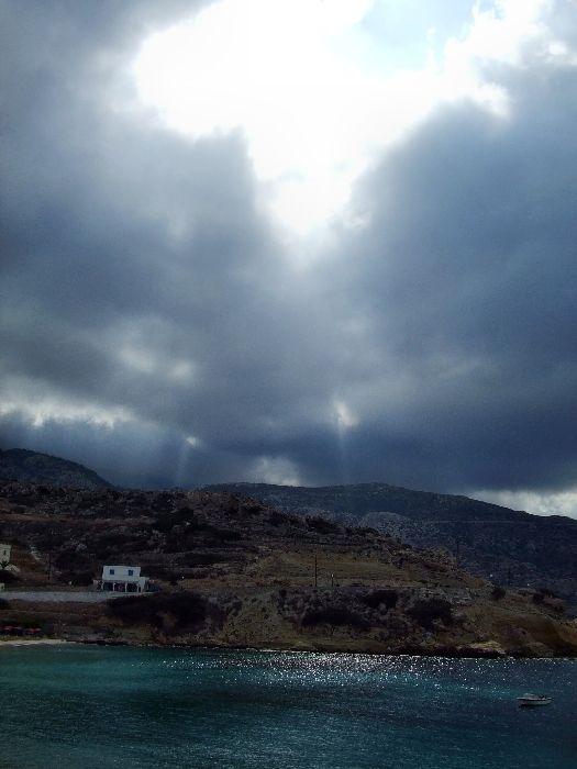 Before storm in Karpathos