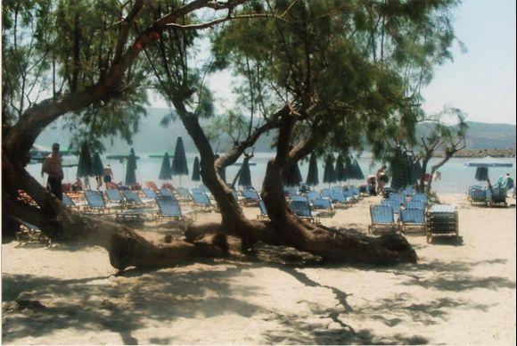 Psili Ammos beach a short drive from Pythagorian.