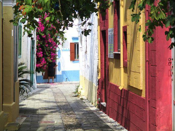 Very pretty colours of Koskinou village.