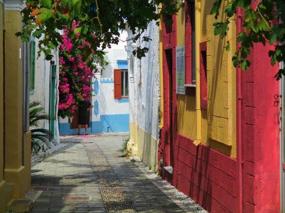 Pretty colours of Koskinou village.