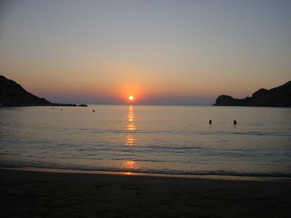 Sunset at Galissas