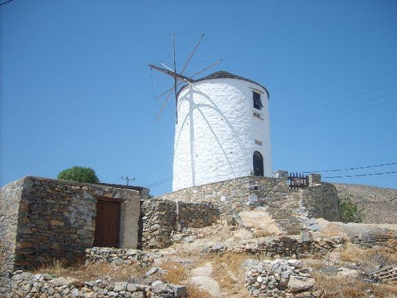 Windmill at Ano Syros