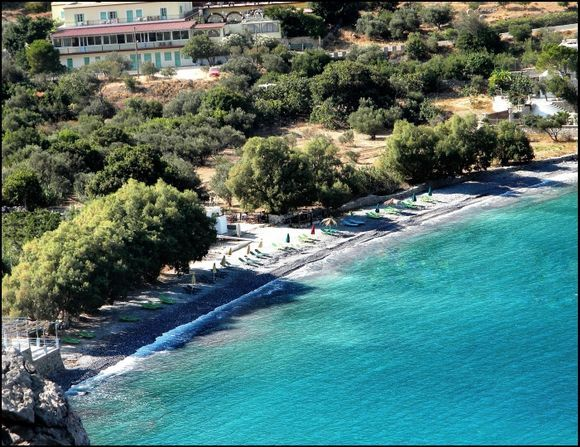 The beach at Arginonta,Kalymnos