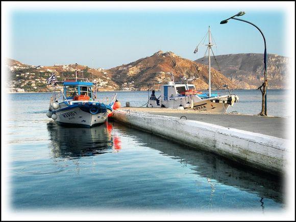 Small jetty on Telendos.